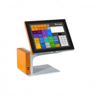 "Sango AURES Restaurant Pro Commercial POS System Touchscreen 15"" with customer display - COM-R05 . Weekly Rental $76.00"