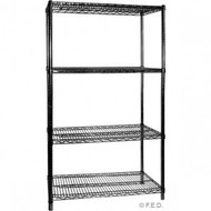 B24/72 Four Tier Shelving - 610 mm deep x 1880 high x 1830 width
