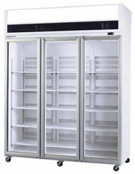 SKOPE VF1500SS 3 Door Stainless Steel Display Freezer. Weekly Rental $127.00