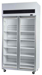 SKOPE VF1000SS 2 Door Stainless Steel Display Freezer. Weekly Rental $84.00
