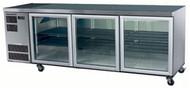 SKOPE CC500 - 3SW - WHITE 3 Glass  Door Chiller. Weekly Rental $61.00