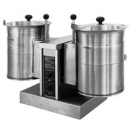 CLEVELAND TKET12T Electric Table Top Twin 45 Ltr Tilting Steam Kettle. Weekly Rental $263.00