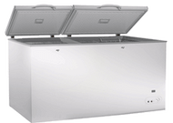 Exquisite ESS650H 650 Litre Stainless Steel Top Chest Freezer. Weekly Rental $15.00
