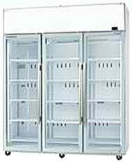 SKOPE TME1500-A  ActiveCore 3 Door White Display Fridge. Weekly Rental $62.00