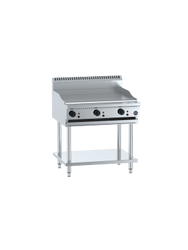 B+S GRP-9 Griddle on Stand with Undershelf-900 mm Wide. Weekly Rental $39.00