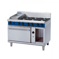 Blue Seal Evolution Series G508C - Gas 1200mm Cook Top/Griddle With Static Oven. Weekly Rental $104.00