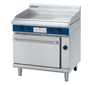 Blue Seal Evolution Series GPE56 - 900mm Gas Griddle Electric Convection Oven Range. Weekly Rental $112.00
