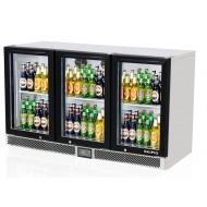Skipio - SB13- 3G - Three Glass Door Underbench Chiller. Weekly Rental $36.00