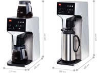 Melitta Cafina - XT180 - Filter Coffee Machine. Weekly Rental $6.00