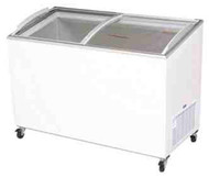 BROMIC CF0400ATCG Curved Glass Chest Freezer. Weekly Rental $15.00