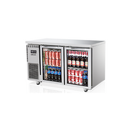 Skipio -SGR12-2. Glass Door Under Counter Chiller. Weekly Rental $28.00