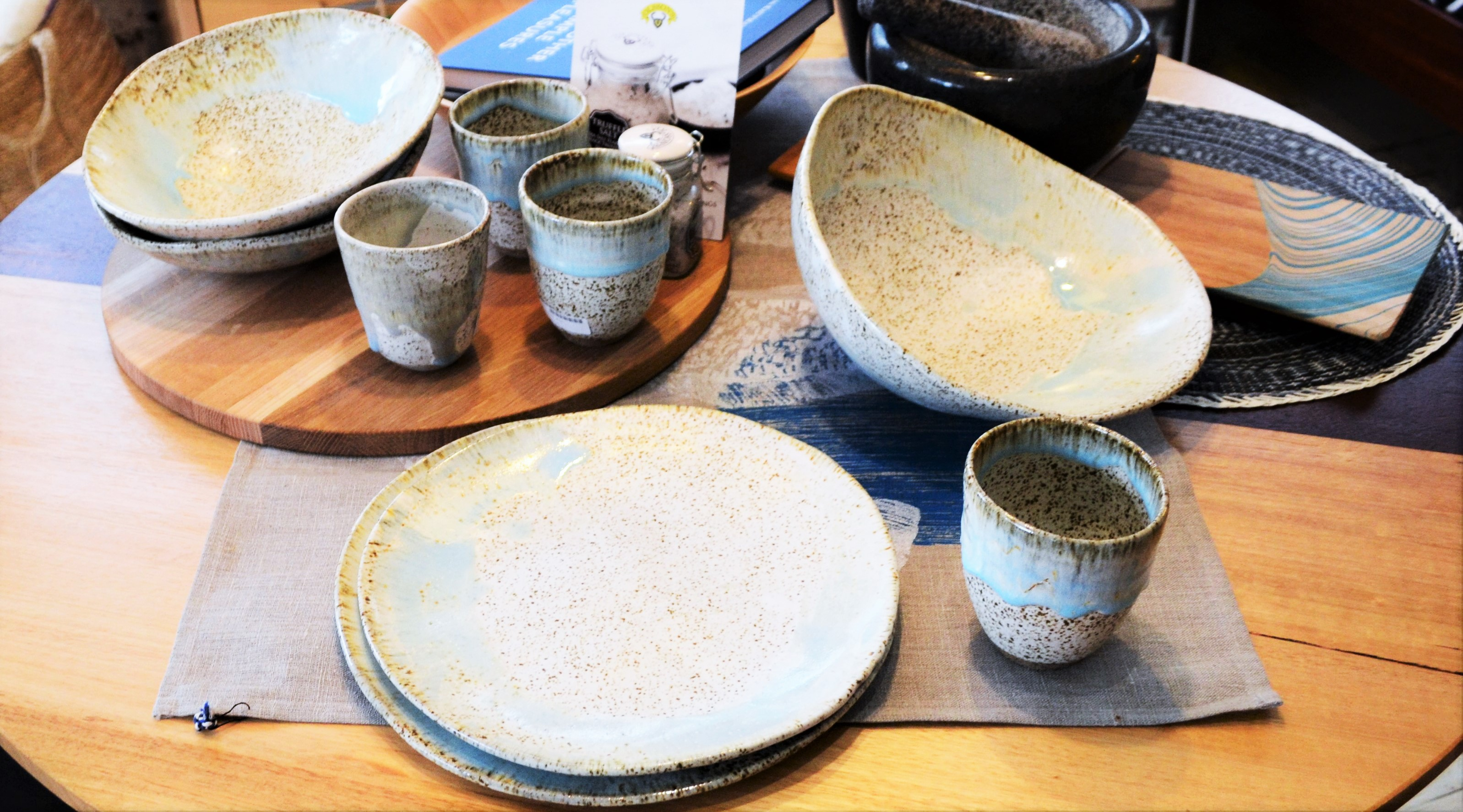 Samantha Robinson ceramics for sale at Wilkins and Kent
