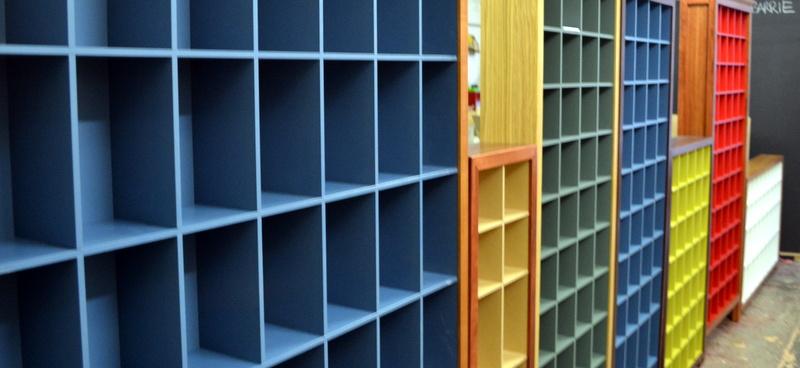 CD storage at Wilkins and Kent, Brunswick St
