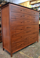 Jarrah Chest, 12 drawers