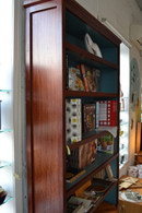 Bookcase, X-Large, Redgum and Valley Blue