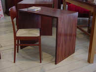 Desk in Jarrah, no drawers