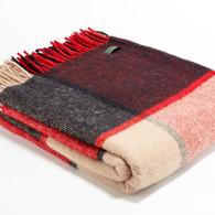 Woollen throw from Tweedmill