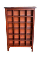 Cd cabinet 4x 6, All Jarrah, traditional frame