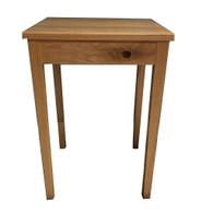 US Oak timber side table