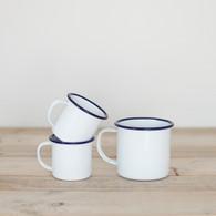 Enamel espresso cup by Falconware