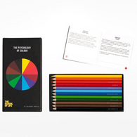SCHOOL OF LIFE psychology of colour 12 pencils