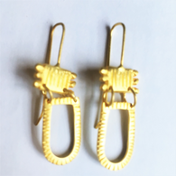 SHABANA J earrings aztec gold 734