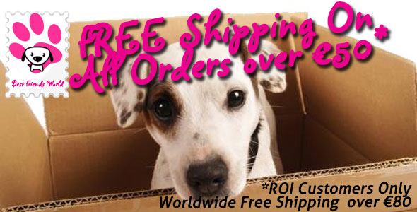 Free Shipiing On All Orders Over €50