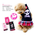 Dobaz Vitality Skull Skirt Dog Dress