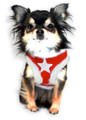 Hip Doggie Fur Star Dog Harness Vest