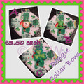 St Patricks Day Loopy Dog Collar Bow For Your Dog or Child