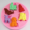 Dog Chocolate Candy Baking Mould - Bite size treats for your dog