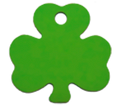 Pet ID Tag For Dogs & Cats - Shamrock Design