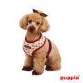 Puppia Dog Story Dog Harness Wine
