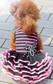 Pink N Black Tutu Dogs Dress