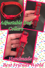 Side Release Custom Made Dog Collars