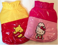 Winnie The Pooh and Hello Kitty Rainjackets