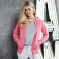 Girlie Zipped Hooded Sweatshirt