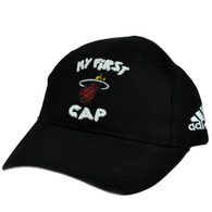 NBA Adidas My First Cap Miami Heat Infant Baby Hat Stretch Fit One Size 22F6Y