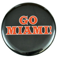 NBA Go Miami Heat Basketball Team Game Shirt Lapel Pin Badge Button Pinback