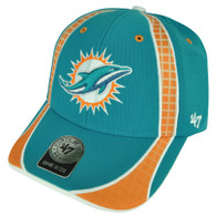 NFL Miami Dolphins '47 Brand Forty Seven  Turquoise Hat Cap Clu Adjustable