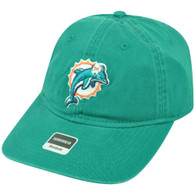 NFL Miami Dolphins Reebok Women's Relaxed Fit Green Clip Buckle Cap Hat DH1549