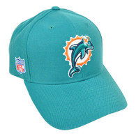 NFL Miami Dolphins Reebok Rbk Curved Bill  Constructed Licensed Hat Cap