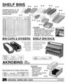 AKRO SHELF BINS ACCESSORIES 40170