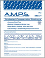 ALBA Home C.A.R.E. Anti-Embolism Stockings # N555-04 - Knee-Length, Smooth Finish, X-Large, Navy, 12 pr/cs