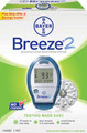 BAYER BREEZE 2 BLOOD GLUCOSE MONITORING SYSTEM 1450A