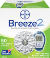 BAYER BREEZE 2 BLOOD GLUCOSE MONITORING SYSTEM 1465