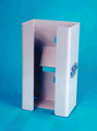 BOWMAN CLEAR PETG PLASTIC AND SINTRA (VARIOUS COLORS) GLOVE DISPENSERS GC-018
