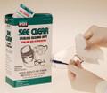 CROSSTEX SEE-CLEAR EYEGLASS WIPES SEEC