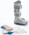 DJO AIRCAST XP DIABETIC WALKER SYSTEM # 01PD-M - Diabetic Pneumatic Walker, Men Shoe Size: 7-10, Women Shoe Size: 8-11, Size: Medium