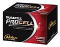 DURACELL PROCELL ALKALINE BATTERY # MX2500B2PK - Battery, Alkaline, Size AAAA, 2pk, 6/cs (UPC# 45387)